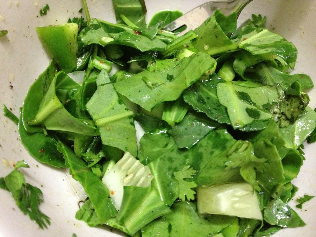 Spinat-Salat