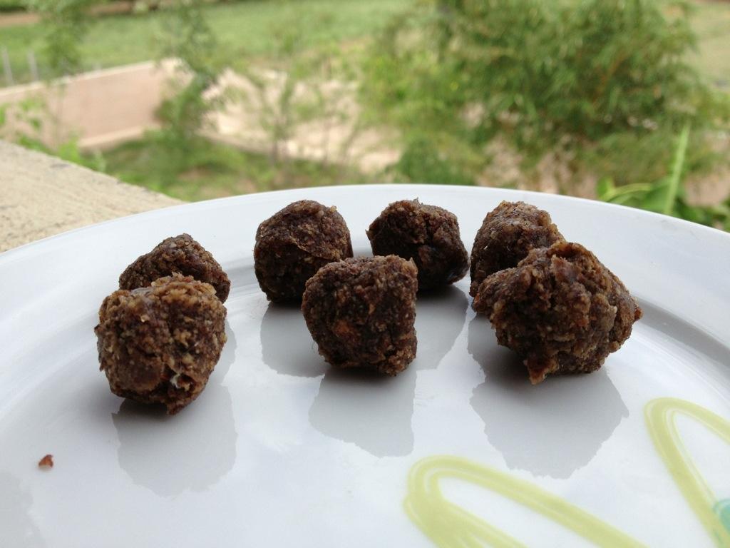 Vanille-Kokos-Kugeln