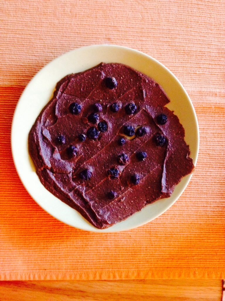 Blaubeeren Brownie